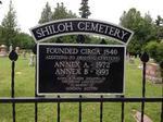 Shiloh cemetery, Cramahe Township