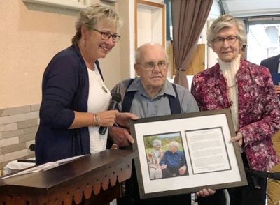 """Castleton Farm Couple inducted into the Quinte Agricultural Wall of Fame at Farmtown Park"" Cramahe Now, September 2019 online news article"