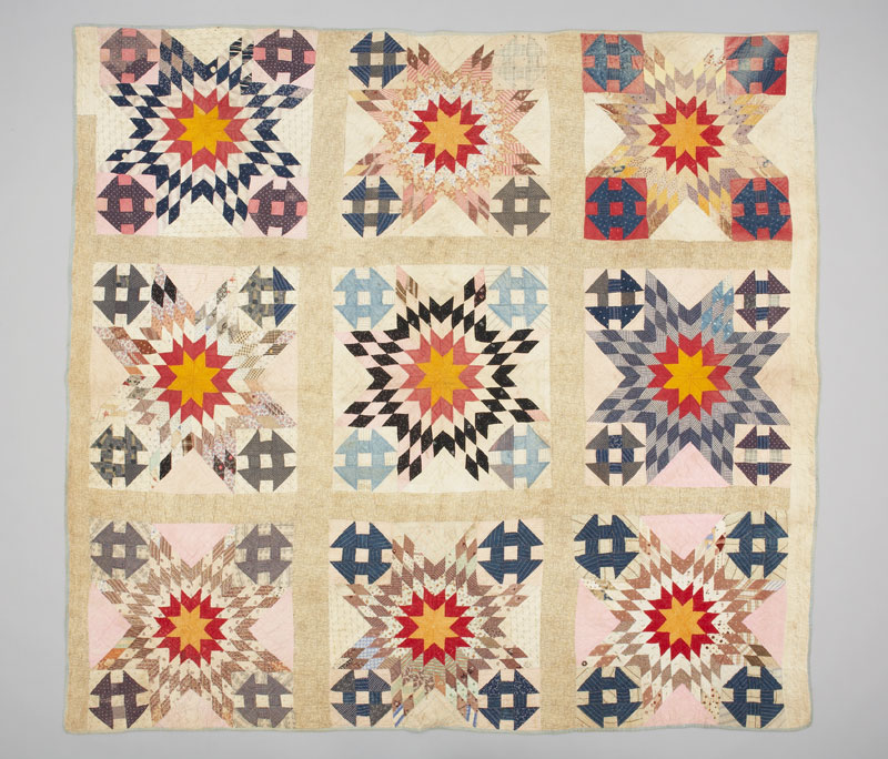 Quilt by Mahala Clark Freeman, Cramahe Township