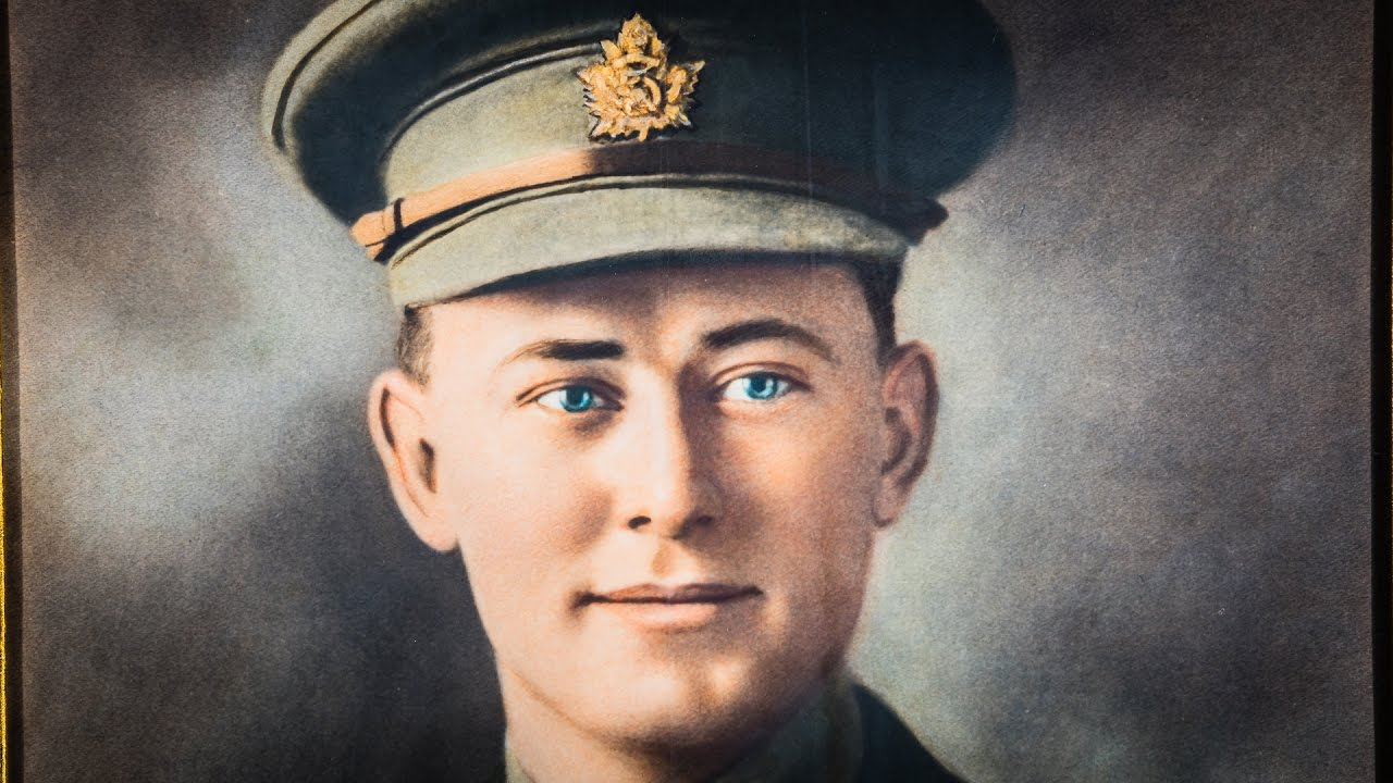 Photograph of Charles Rutherford, VC, MC, MM, 1914-1919, Cramahe Township