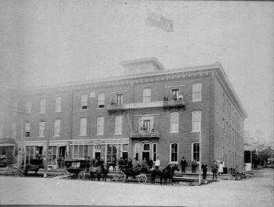 Photograph of Brunswick Hotel, Colborne, Cramahe Township