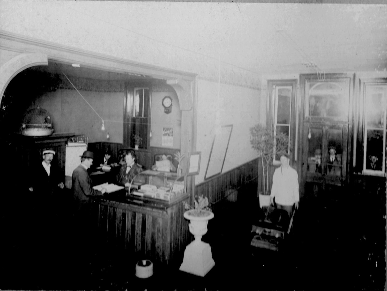 Photograph of the interior of Brunswick Hotel, Colborne, Cramahe Township