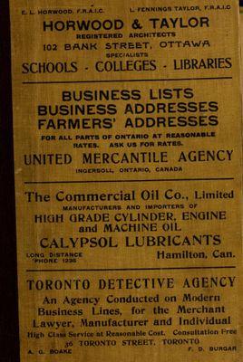 Ontario Gazetteer and Business Directory, 1910-11