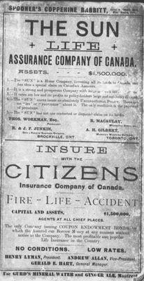 Ontario gazetteer and business directory, 1886-7