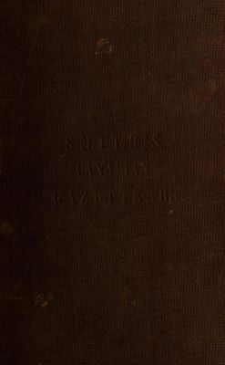 Smith's Canadian gazetteer: comprising statistical and general information respecting all parts of the Upper Province, or Canada West, 1846