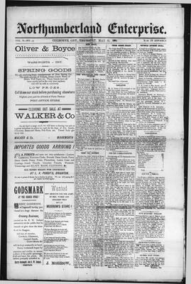 Northumberland Enterprise (18910430), 21 May 1891
