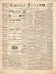 Canadian Statesman (Bowmanville, ON), 9 Jul 1868