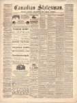 Canadian Statesman (Bowmanville, ON), 23 Jul 1868