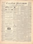 Canadian Statesman (Bowmanville, ON), 1 Oct 1868