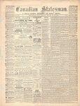 Canadian Statesman (Bowmanville, ON), 21 Jan 1869