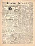 Canadian Statesman (Bowmanville, ON), 18 Mar 1869