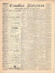 Canadian Statesman (Bowmanville, ON), 1 Jul 1869