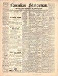 Canadian Statesman (Bowmanville, ON), 29 Jul 1869