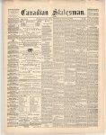 Canadian Statesman (Bowmanville, ON), 14 Mar 1872