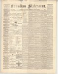 Canadian Statesman (Bowmanville, ON), 29 Aug 1872
