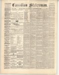 Canadian Statesman (Bowmanville, ON), 19 Sep 1872