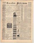 Canadian Statesman (Bowmanville, ON), 7 Nov 1872