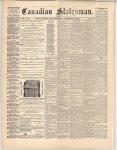 Canadian Statesman (Bowmanville, ON), 14 Nov 1872
