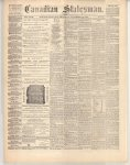 Canadian Statesman (Bowmanville, ON), 21 Nov 1872