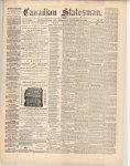 Canadian Statesman (Bowmanville, ON), 28 Nov 1872