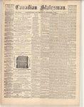 Canadian Statesman (Bowmanville, ON), 5 Dec 1872