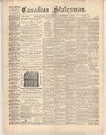 Canadian Statesman (Bowmanville, ON), 12 Dec 1872