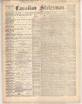 Canadian Statesman (Bowmanville, ON), 19 Dec 1872