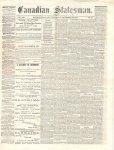 Canadian Statesman (Bowmanville, ON), 13 Nov 1873