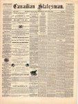 Canadian Statesman (Bowmanville, ON), 23 Jul 1874