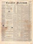 Canadian Statesman (Bowmanville, ON), 30 Jul 1874