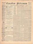 Canadian Statesman (Bowmanville, ON), 12 Nov 1874