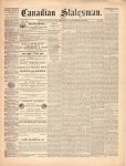 Canadian Statesman (Bowmanville, ON), 19 Nov 1874