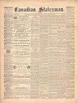 Canadian Statesman (Bowmanville, ON), 26 Nov 1874