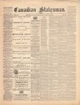 Canadian Statesman (Bowmanville, ON), 8 Jul 1875