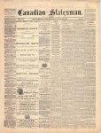 Canadian Statesman (Bowmanville, ON), 22 Jul 1875