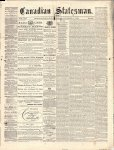 Canadian Statesman (Bowmanville, ON), 4 Nov 1875