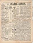 Canadian Statesman (Bowmanville, ON), 1 Nov 1878