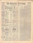 Canadian Statesman (Bowmanville, ON), 15 Nov 1878