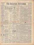 Canadian Statesman (Bowmanville, ON), 22 Nov 1878