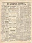 Canadian Statesman (Bowmanville, ON), 16 Jan 1880