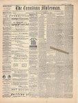 Canadian Statesman (Bowmanville, ON), 26 Nov 1880