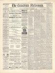Canadian Statesman (Bowmanville, ON), 3 Dec 1880