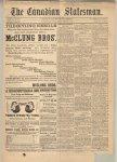 Canadian Statesman (Bowmanville, ON), 1 Feb 1884