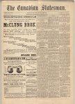 Canadian Statesman (Bowmanville, ON), 22 Feb 1884