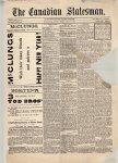 Canadian Statesman (Bowmanville, ON), 1 Jan 1886