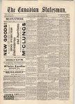 Canadian Statesman (Bowmanville, ON), 26 Feb 1886