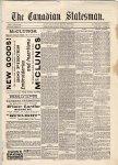 Canadian Statesman (Bowmanville, ON), 5 Mar 1886