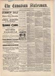 Canadian Statesman (Bowmanville, ON), 18 Jul 1888