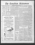 Canadian Statesman (Bowmanville, ON), 1 Apr 1926