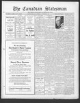 Canadian Statesman (Bowmanville, ON), 4 Nov 1926